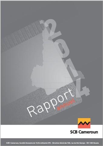 Rapport Annuel SCB Cameroun 2014